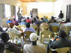 Seminar in West Africa