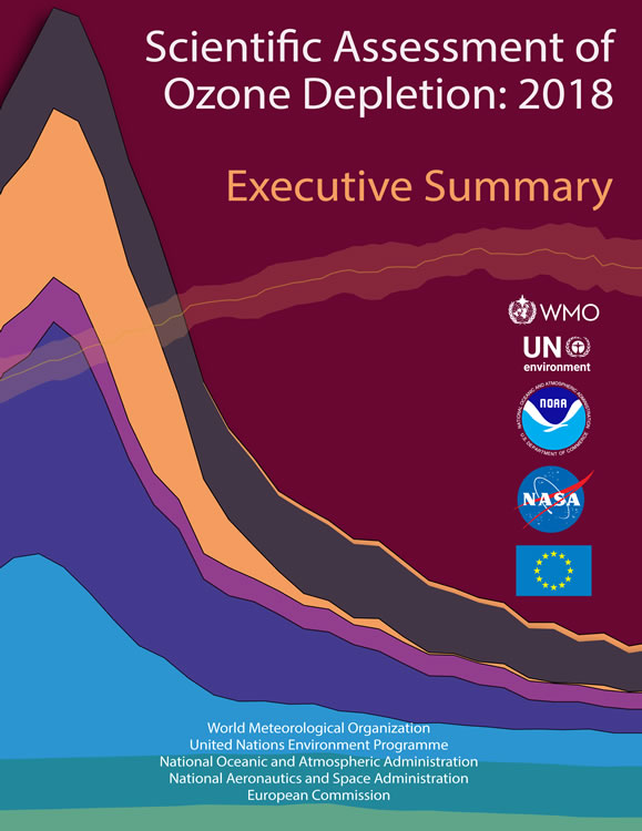Cover Executive Summary of Scientific Assessment of Ozone Depletion 2018
