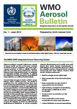 Aerosol Bulletin N1