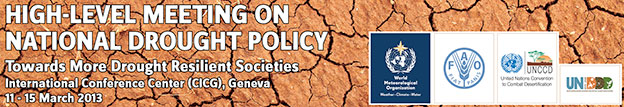 logo High-level Meeting on National Drought Policy (HMNDP)