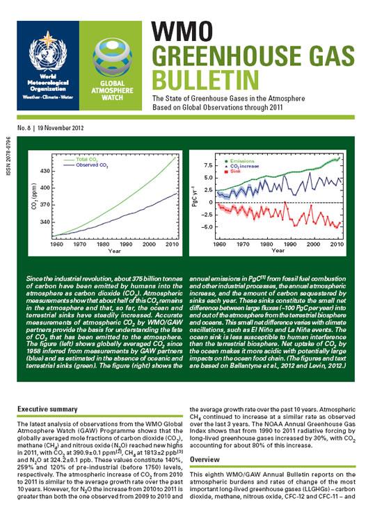GHG Bulletin 8