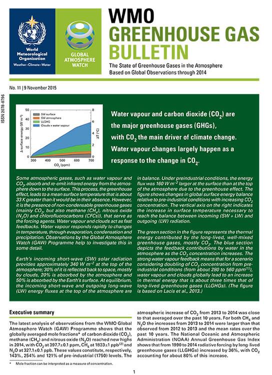 GHG Bulletin 11
