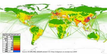 GHG emissions 2005