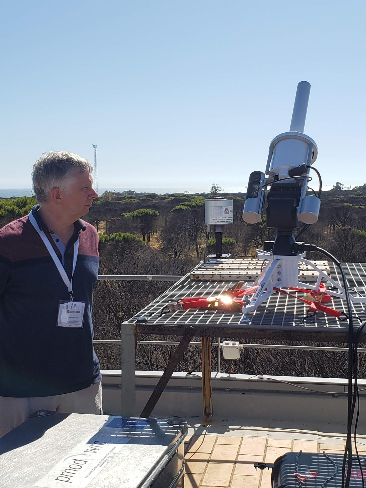 Intercomparison of alternative techniques to measure ozone column, Spain 2019
