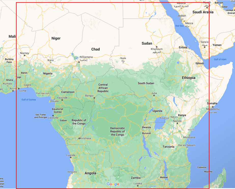 SWFP-Central Africa domain