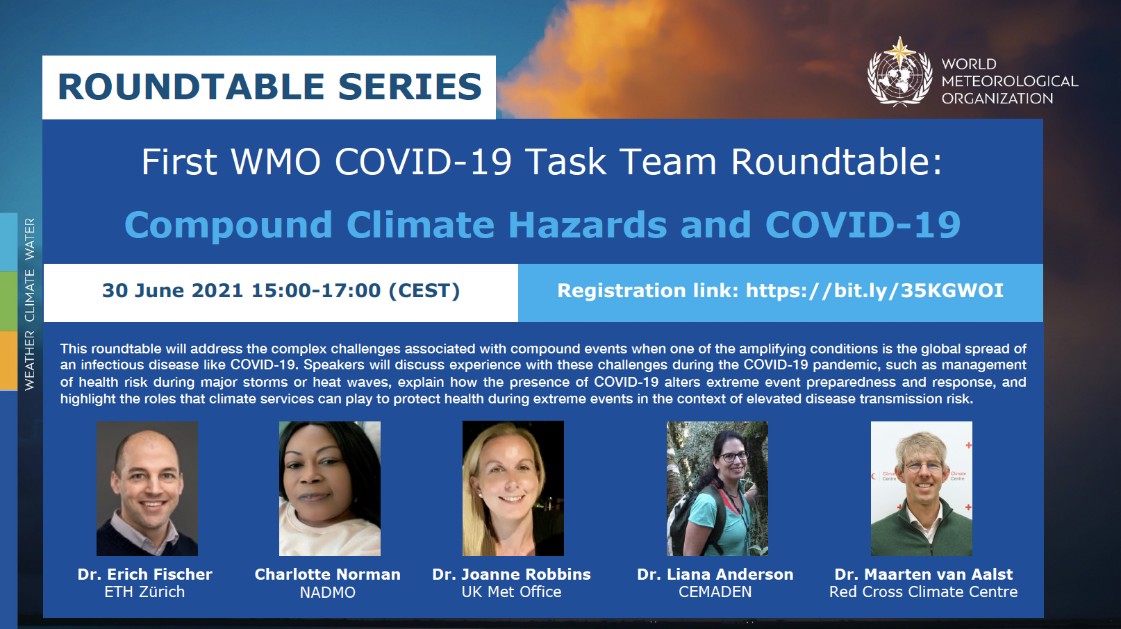 First COVID-19 TT Roundtable