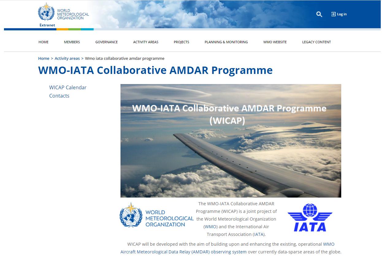 WICAP website