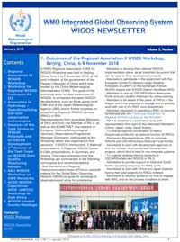 WIGOS newsletters