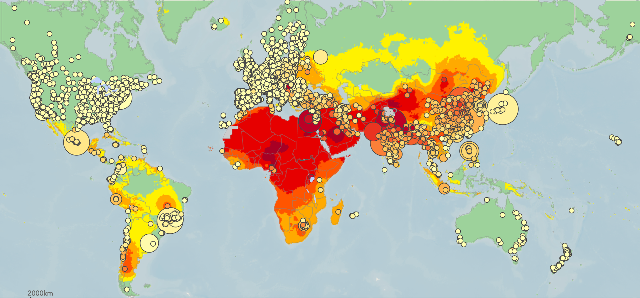 WHO Global Ambient Air Quality Database