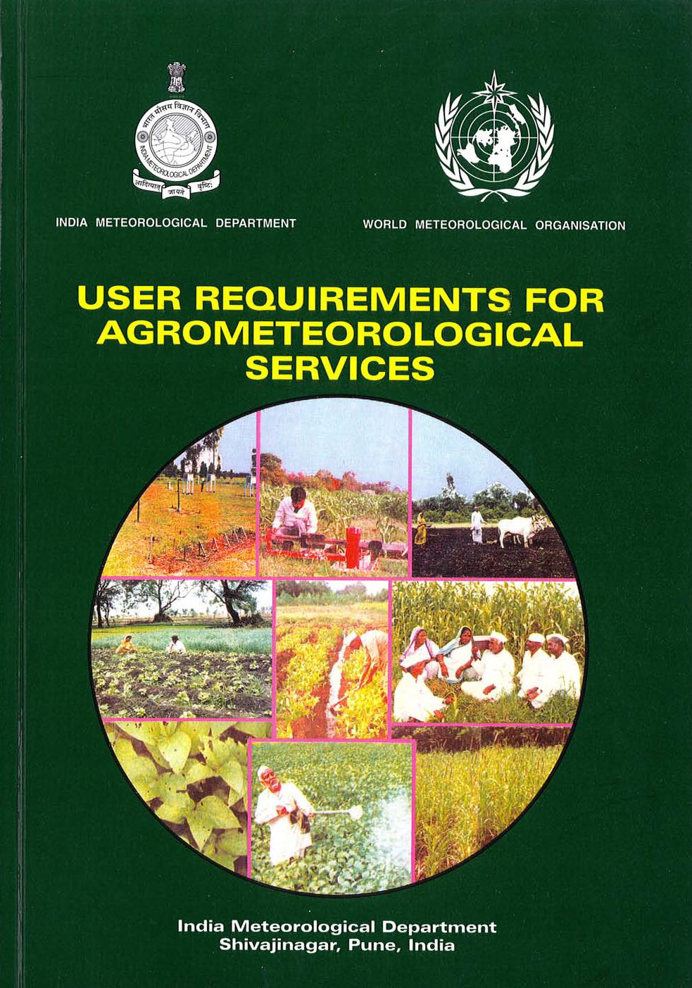 User Requirements for Agrometeorological Services Cover