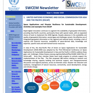 WMO SWCEM-EAWP-Newsletter_Issue3_October_2020_title