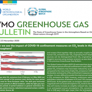Greenhouse Gas Bulletin 2020