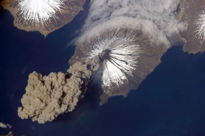 Alaskan volcano